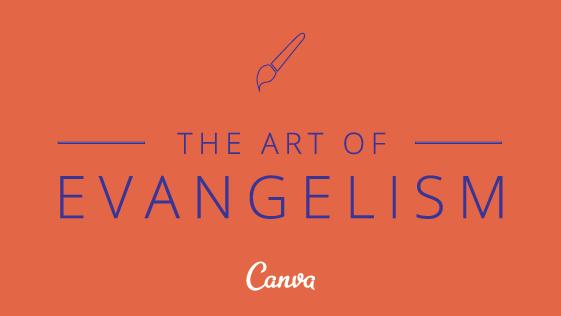 THE ART OF EVANGELISM 2 011